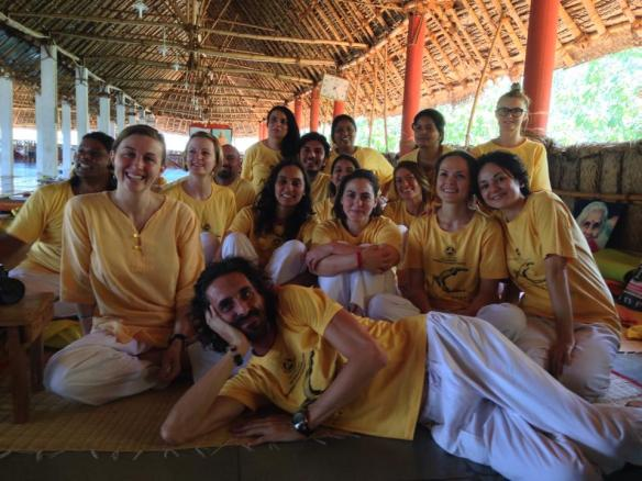 With students at a recent Teachers' Training Course in Madurai, India