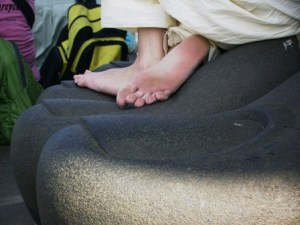 Feet at Feet, Kanyakumari, Tamil Nadu