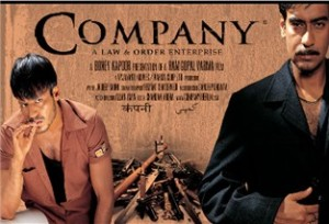 "Poster for Ram Gopal Varma's fabulous ""Company"""
