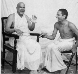Swami Sivananda and Swami Venkatesananda