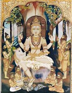Dakshinamurti - Siva in the form of the Teacher