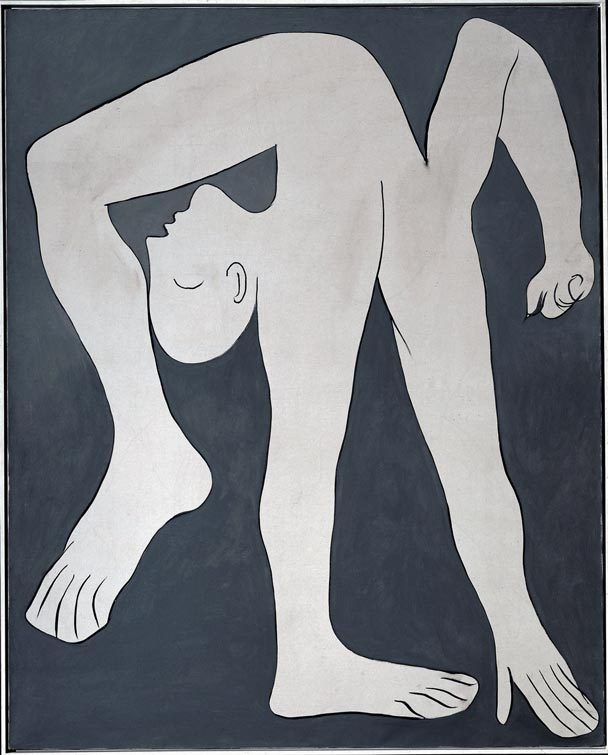 "Picasso's ""The Acrobat"""