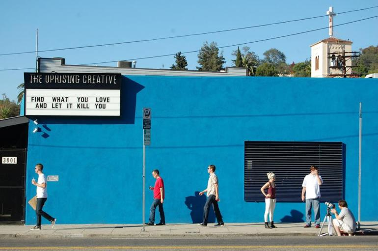 A good eye...Silver Lake, Los Angeles, 2013. Photo by Kathleen Garces