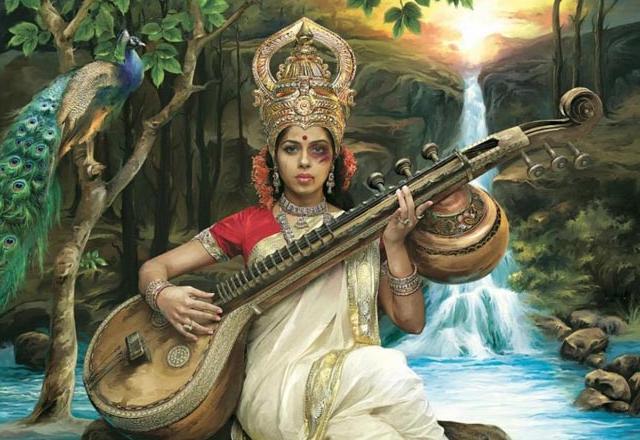Black-eyed Saraswati