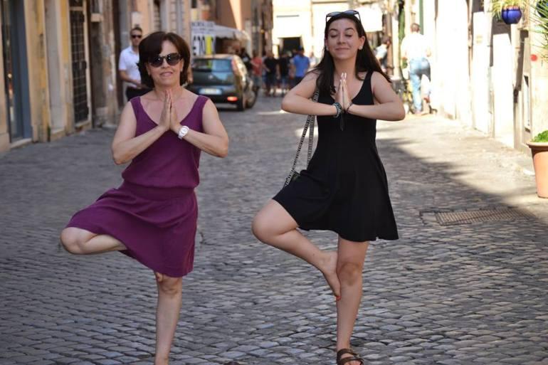 """Nadia in Rome....""""Rrrrramon""""!"""
