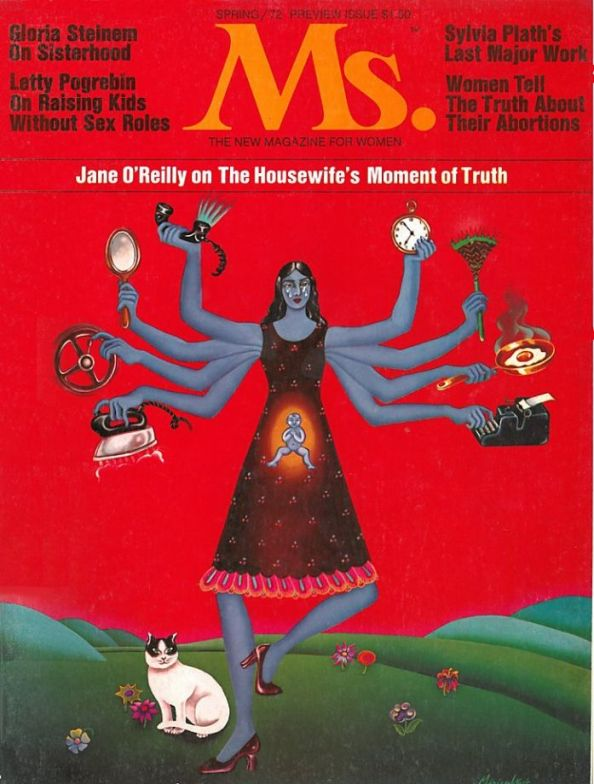 First cover of Ms. Magazine, 1972